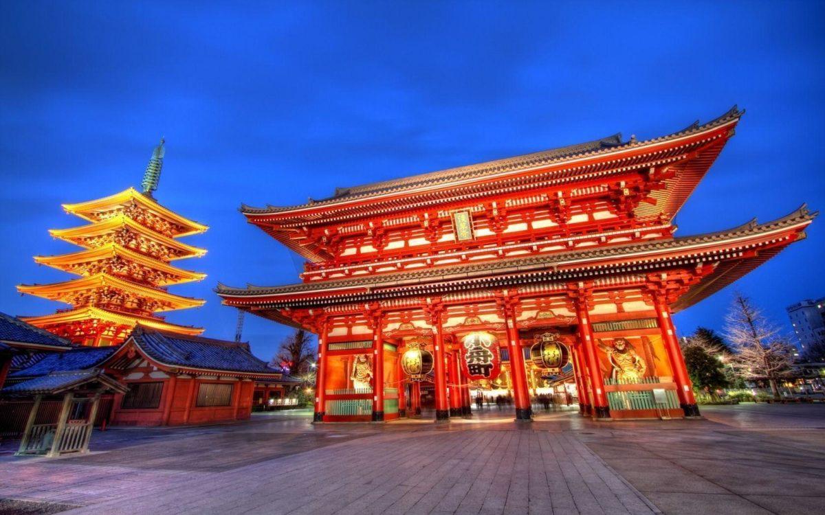 1680×1050 Sensoji temple tokyo Wallpaper