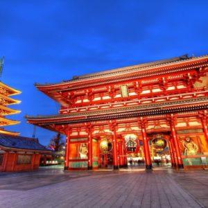 download 1680×1050 Sensoji temple tokyo Wallpaper