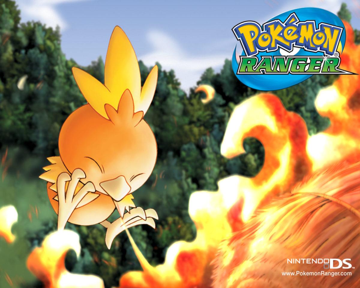Pokemon Ranger Wallpaper of Torchic – Pokemon Wallpaper – Cartoon …