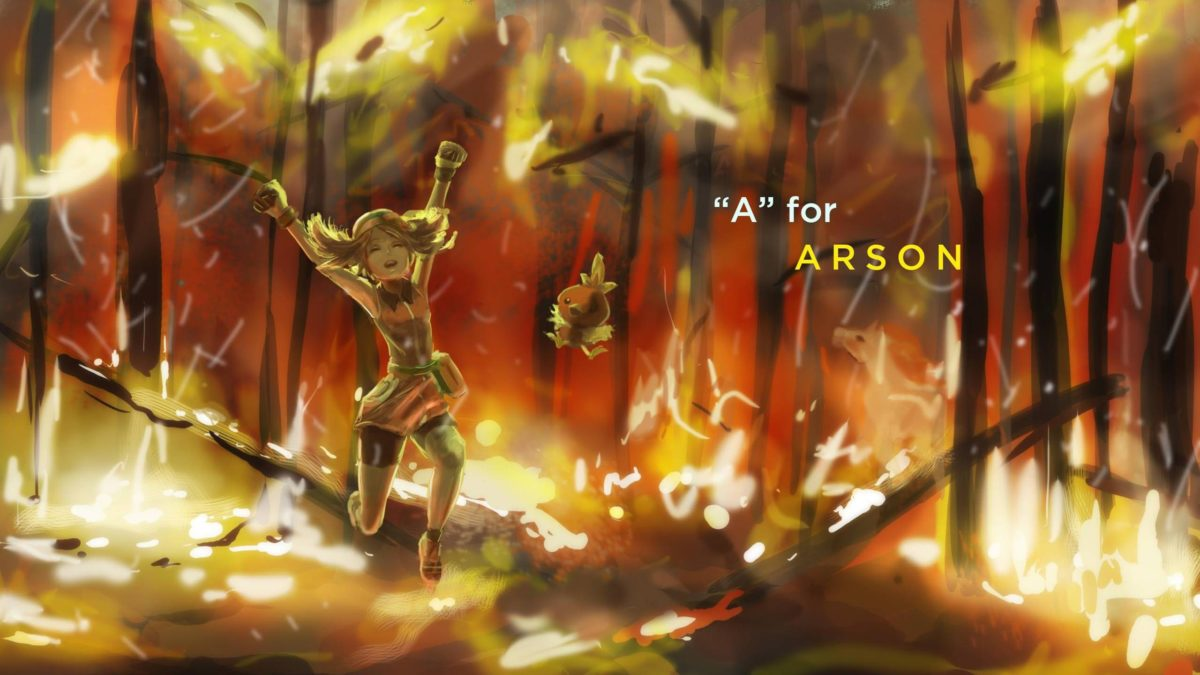 Wallpaper : sunlight, trees, Pok mon, fire, jungle, May pokemon …