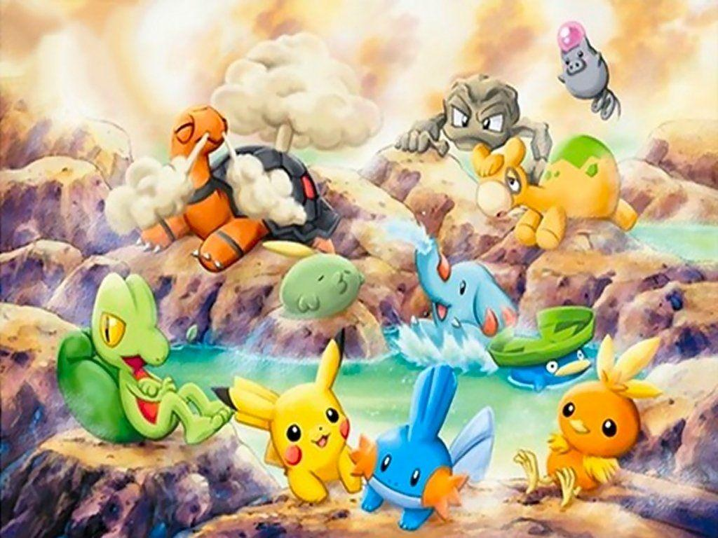 Pokémon Wallpaper and Background Image | 1024×768 | ID:6437
