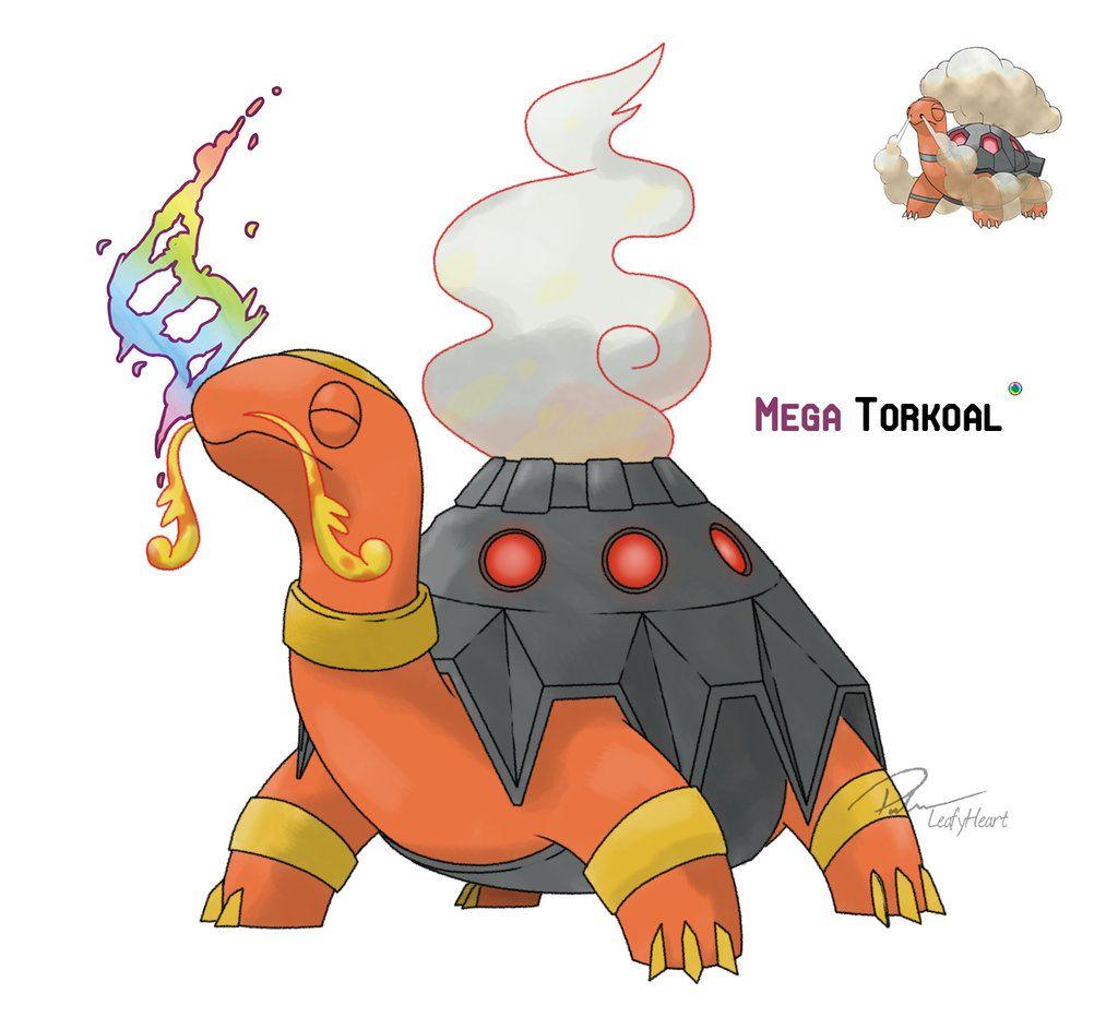 Torkoal by LeafyHeart on DeviantArt