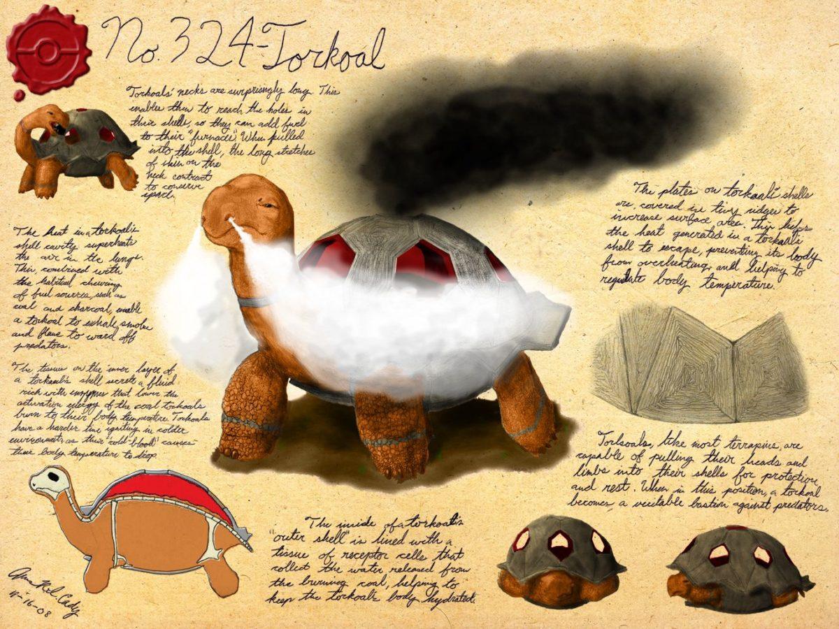 No. 324 – Torkoal by GnooroopoftheGerudo on DeviantArt