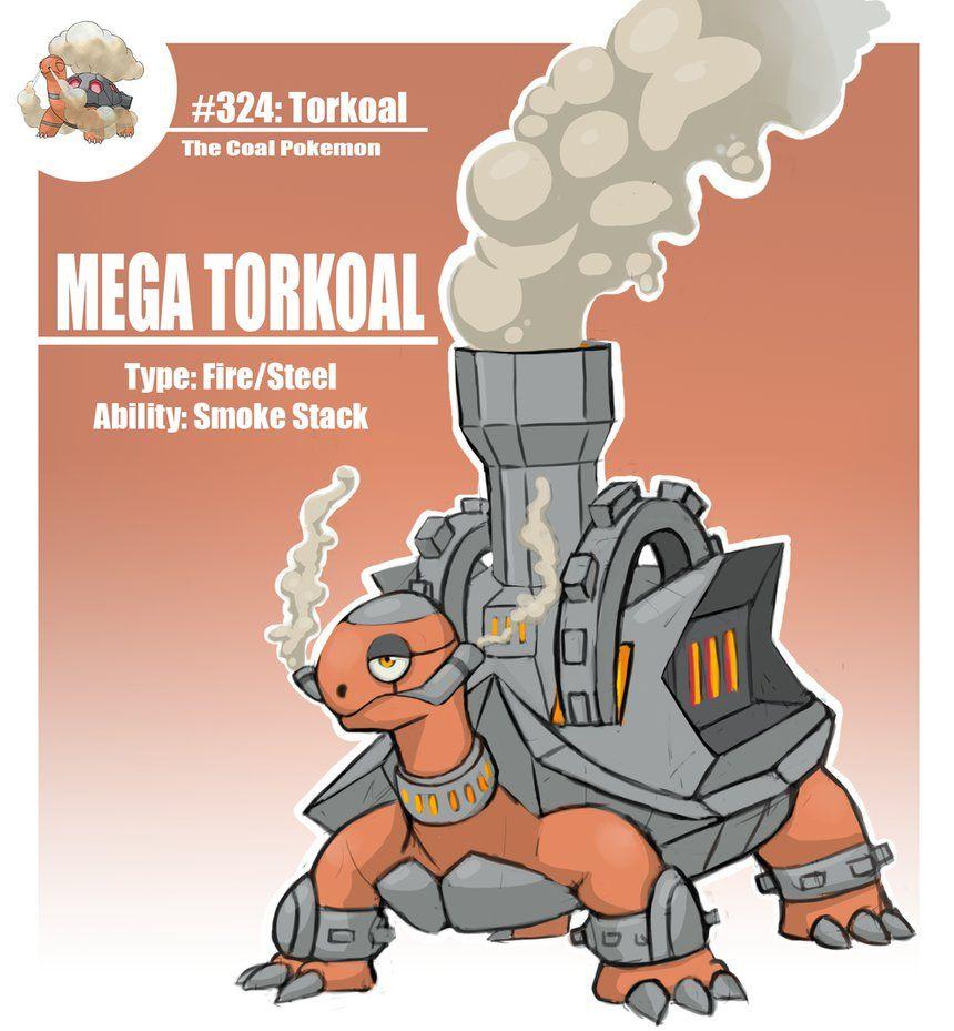 Mega Torkoal by WforWumbo on DeviantArt