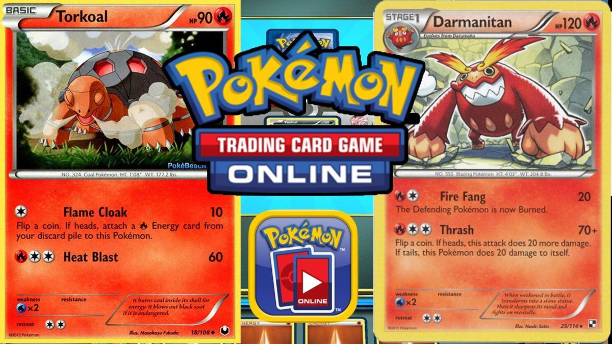 Pokemon TCG Online – Torkoal Sweep and Darmanitan Fear! – YouTube