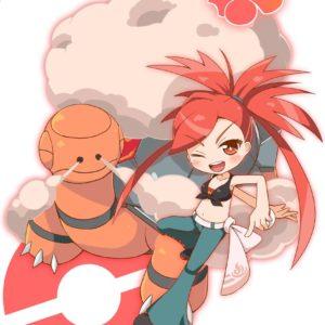 download Pokémon – Asuna and 342 Torkoal art by 七夕翠星 (Pixiv)   Pokémon …