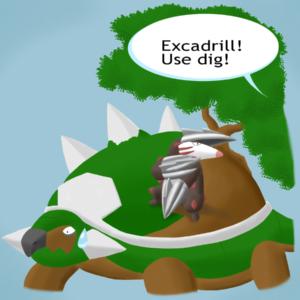download Torterra is in trouble… by Weirda-s-M-art on DeviantArt