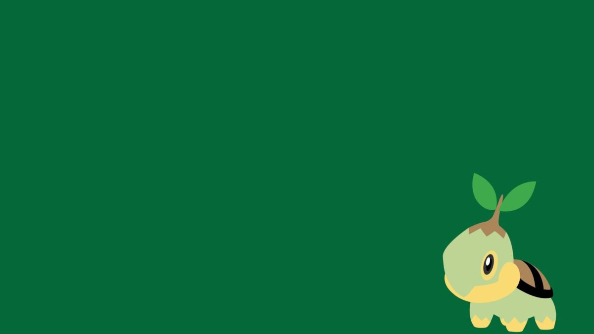 Torterra, Minimalism, Green Background wallpaper | anime …
