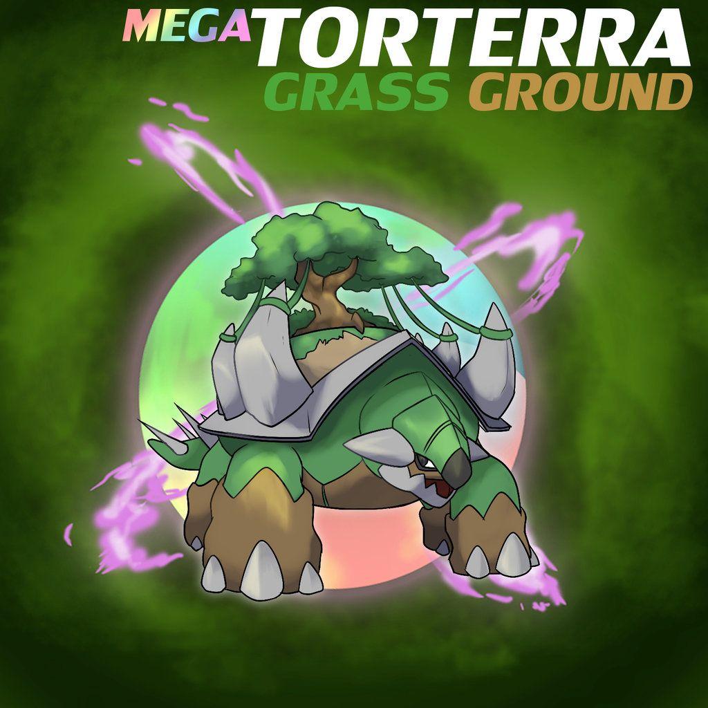 Mega Torterra by ShinyGazza on DeviantArt