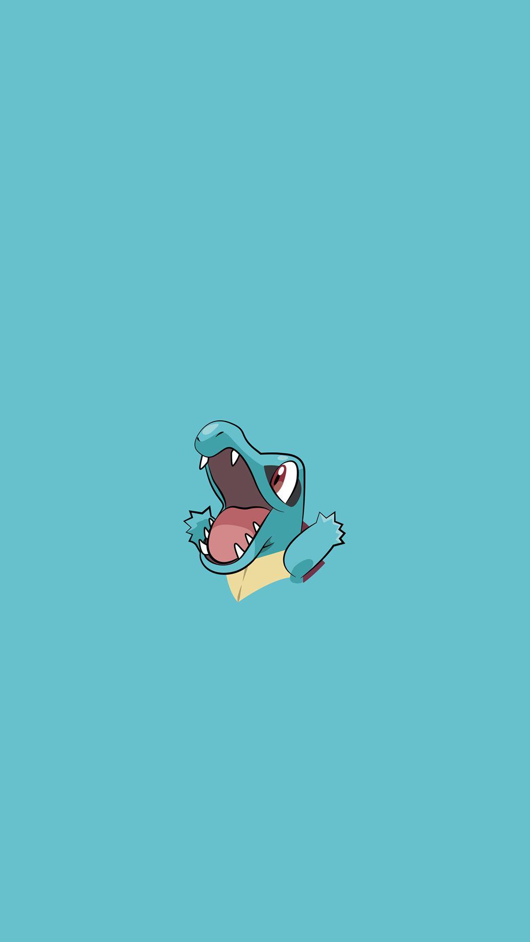 Totodile Pokemon iPhone 6+ HD Wallpaper | wallpaper | Pinterest …