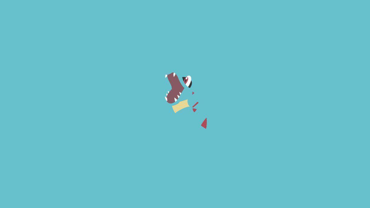 Minimalist Totodile by Muzikere on DeviantArt