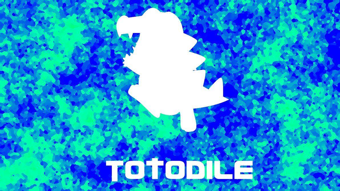 Totodile Wallpaper by TokageLP on DeviantArt