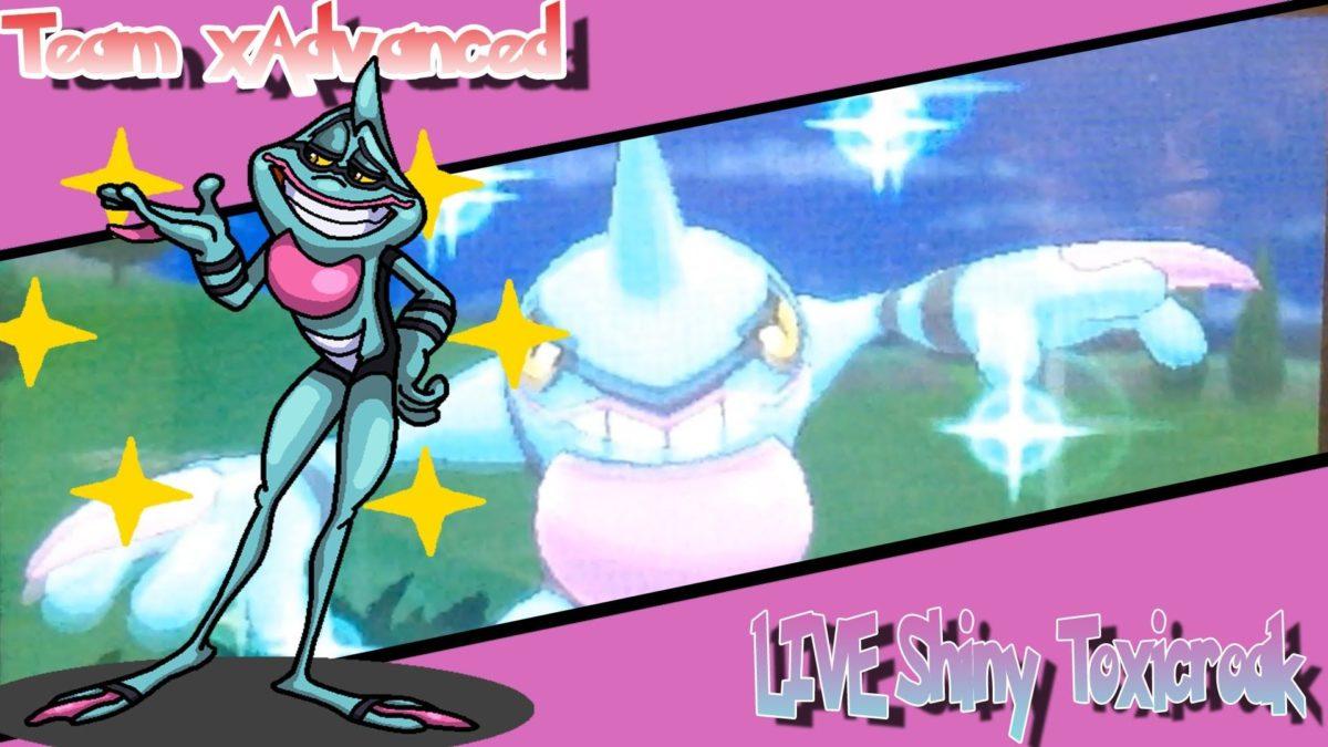 HD) Live! Shiny Toxicroak In Pokémon X after 110 RE'S! – YouTube