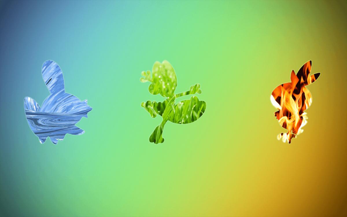 Torchic , #Pokémon, #Treecko, #Mudkip, #starters, #elements, #fire …