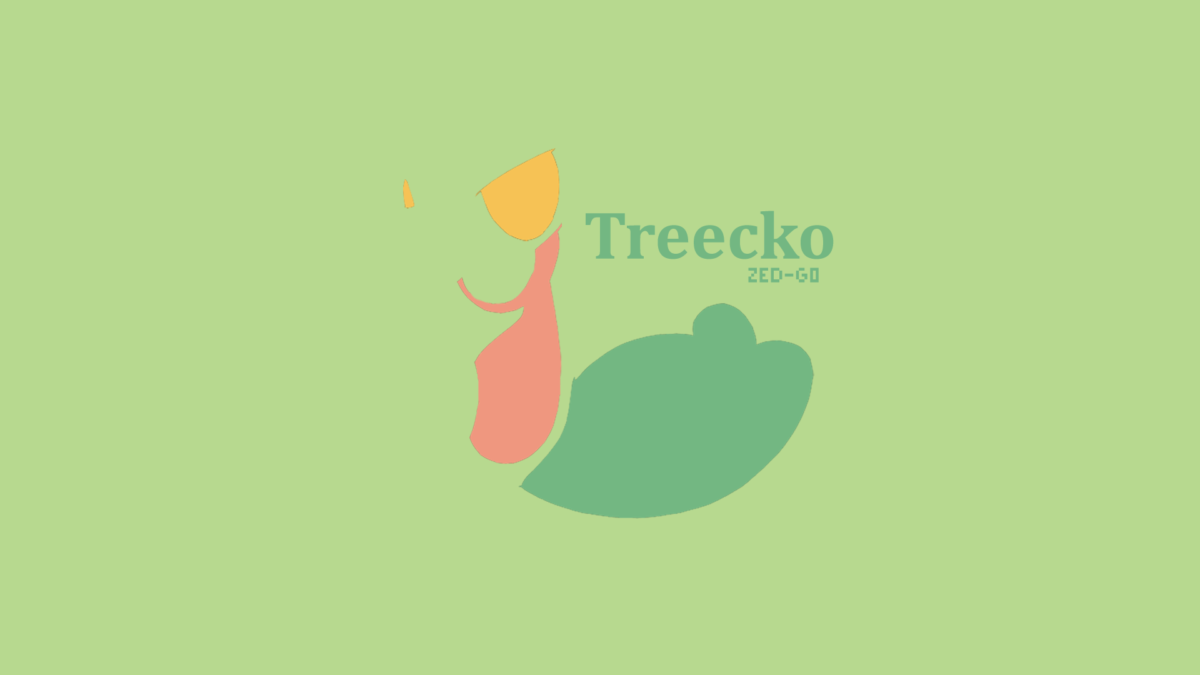 Treecko Minimalist by Zed-G0 on DeviantArt