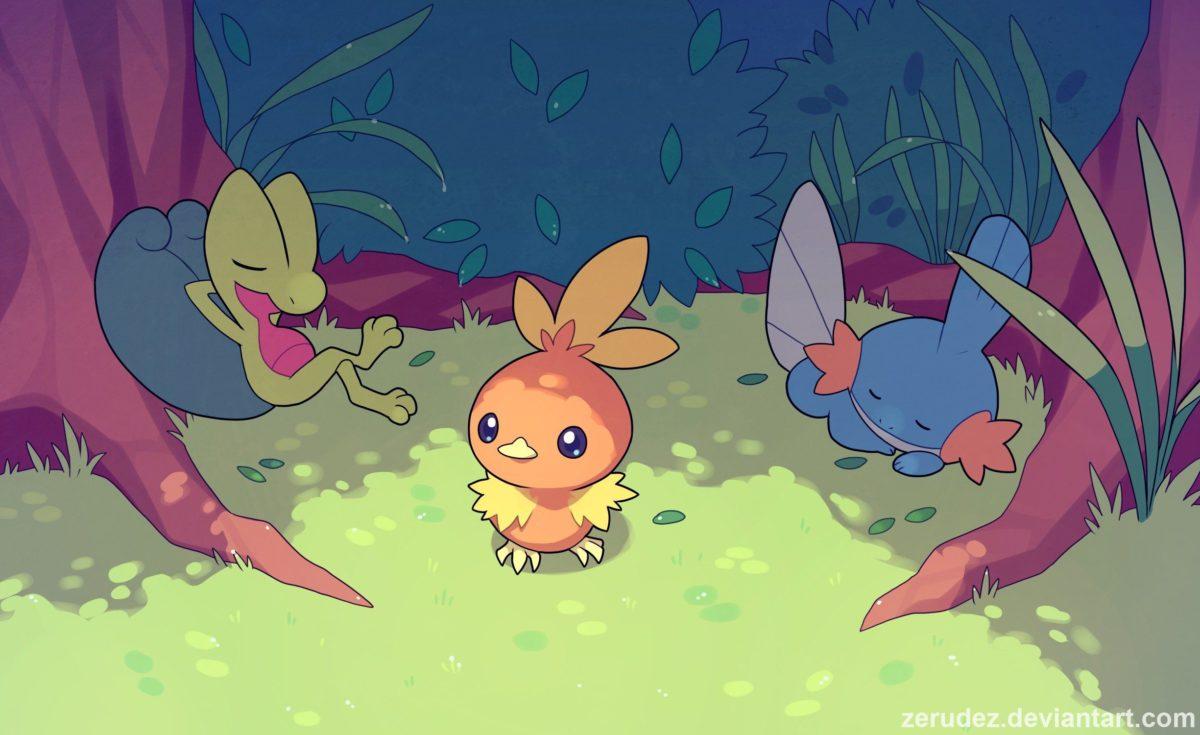 Torchic, Pokémon, Treecko, Mudkip HD Wallpapers / Desktop and Mobile …