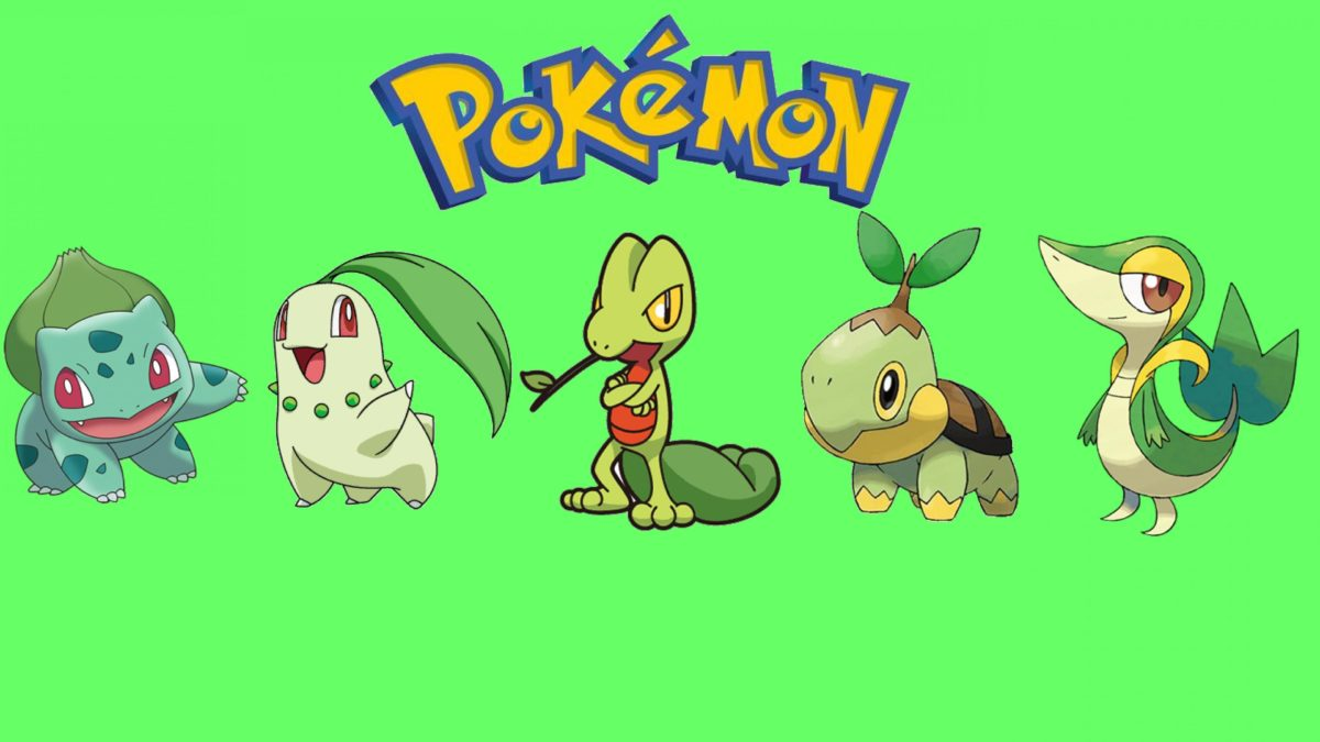 pokemon bulbasaur treecko snivy chikorita turtwig #982359
