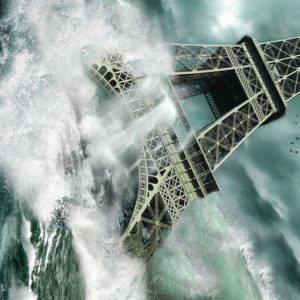 download Photography : Captivating Tsunami At Eifel Tower Picture Desktop …