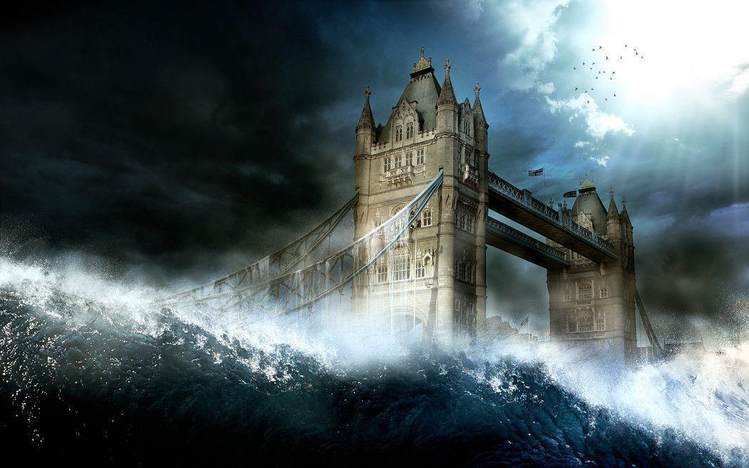 Wallpapers – The End, The Tsunami by FlowGraphic – Customize.