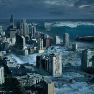 download Images For > Tsunami Art Wallpaper