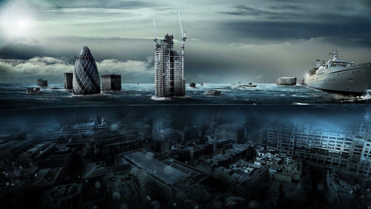 Daily Wallpaper: London Underwater | I Like To Waste My Time