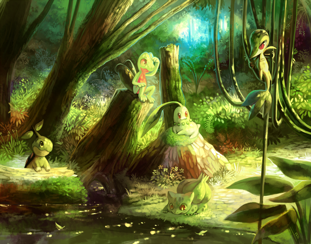 17 Turtwig (Pokémon) HD Wallpapers | Background Images – Wallpaper Abyss