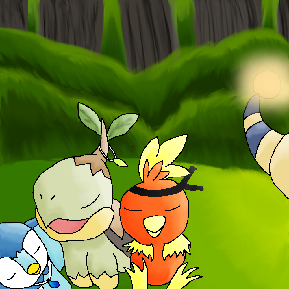 Torchic, Turtwig and Piplup by Derial-T on DeviantArt | Download …