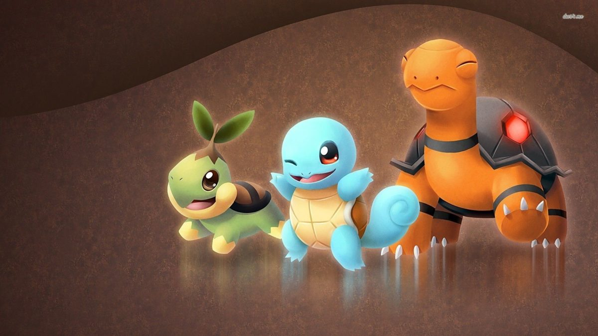 Torkoal, Squirtle, Turtwig – Pokemon wallpaper – Anime wallpapers …
