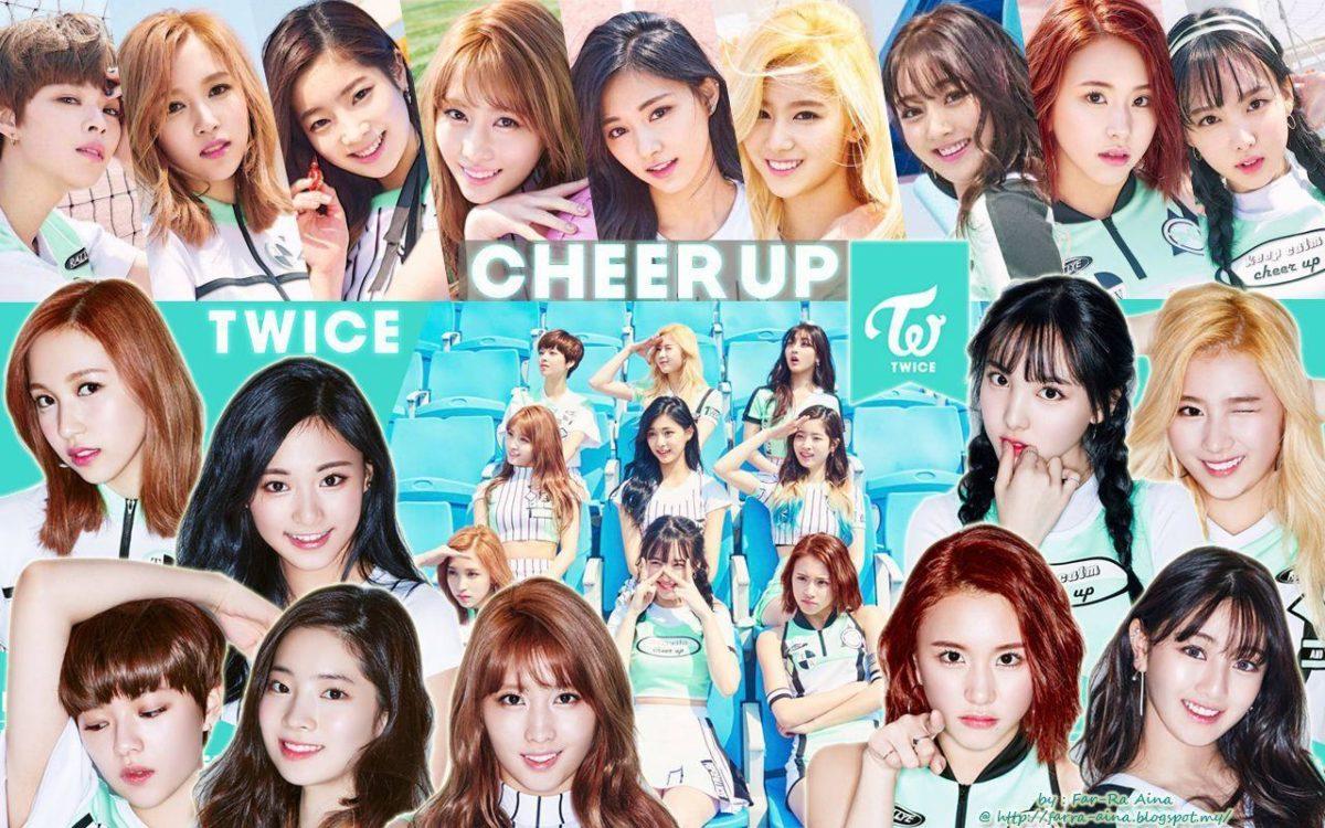 k-pop lover ^^: TWICE – Cheer Up WALLPAPER