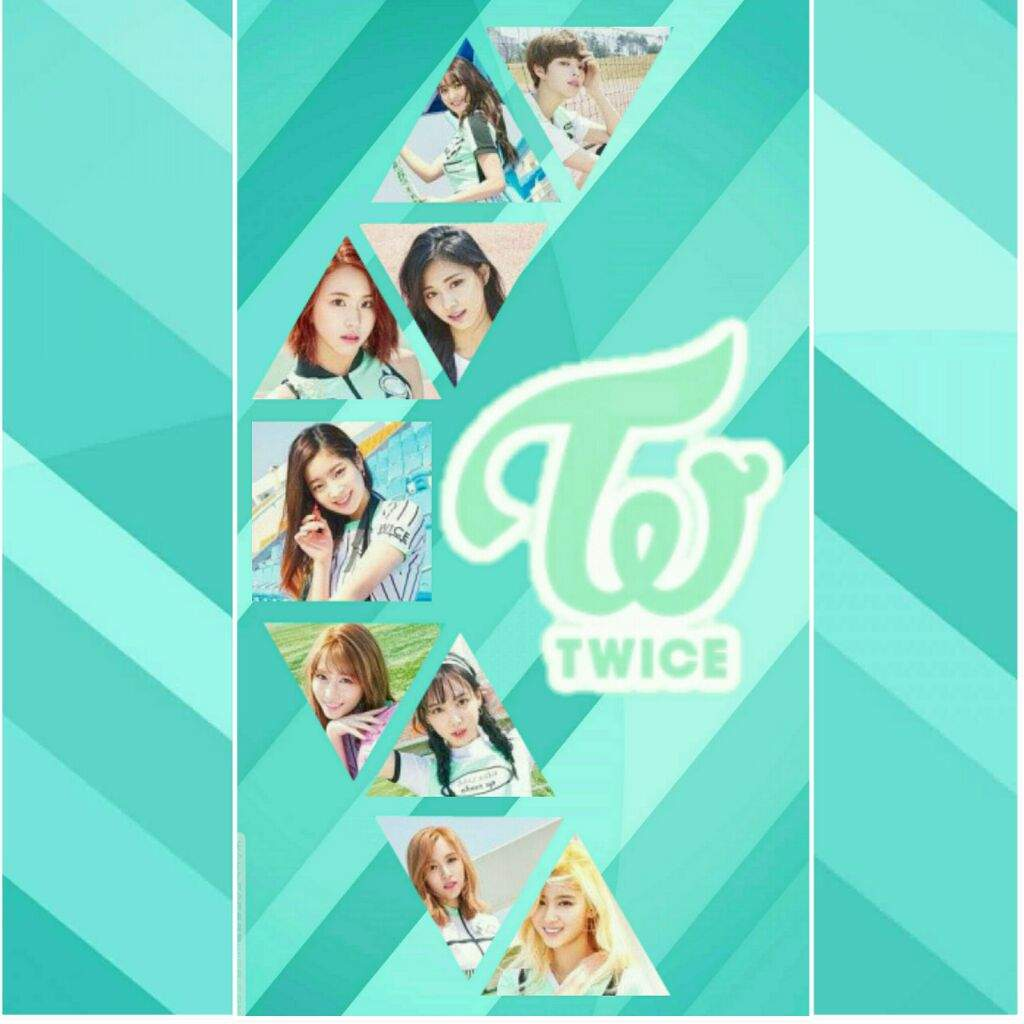 What do you guys think about the Twice phone wallpaper I made …
