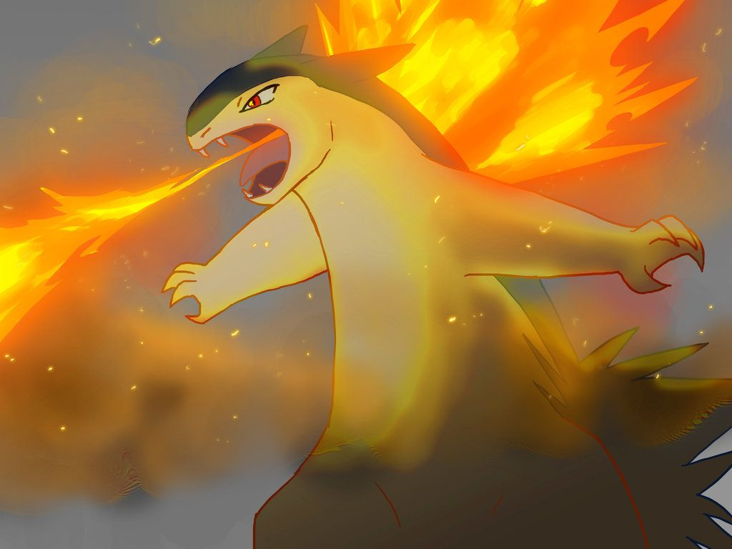 Typhlosion by Aritimas on DeviantArt