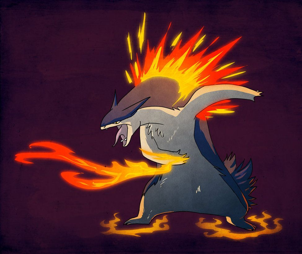 Typhlosion by Exobio on DeviantArt