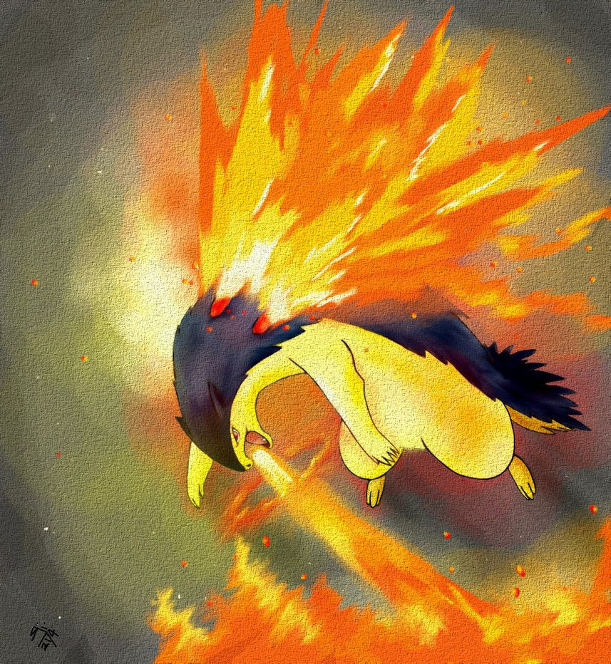Typhlosion by sharkjaw on DeviantArt