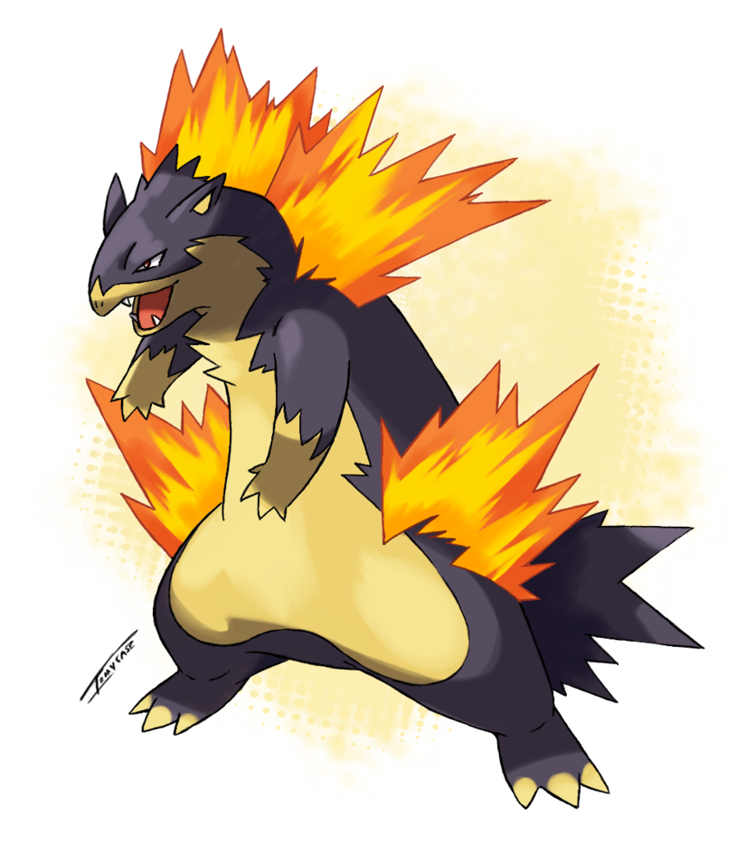 Mega Typhlosion -Scrap- by Tomycase on DeviantArt