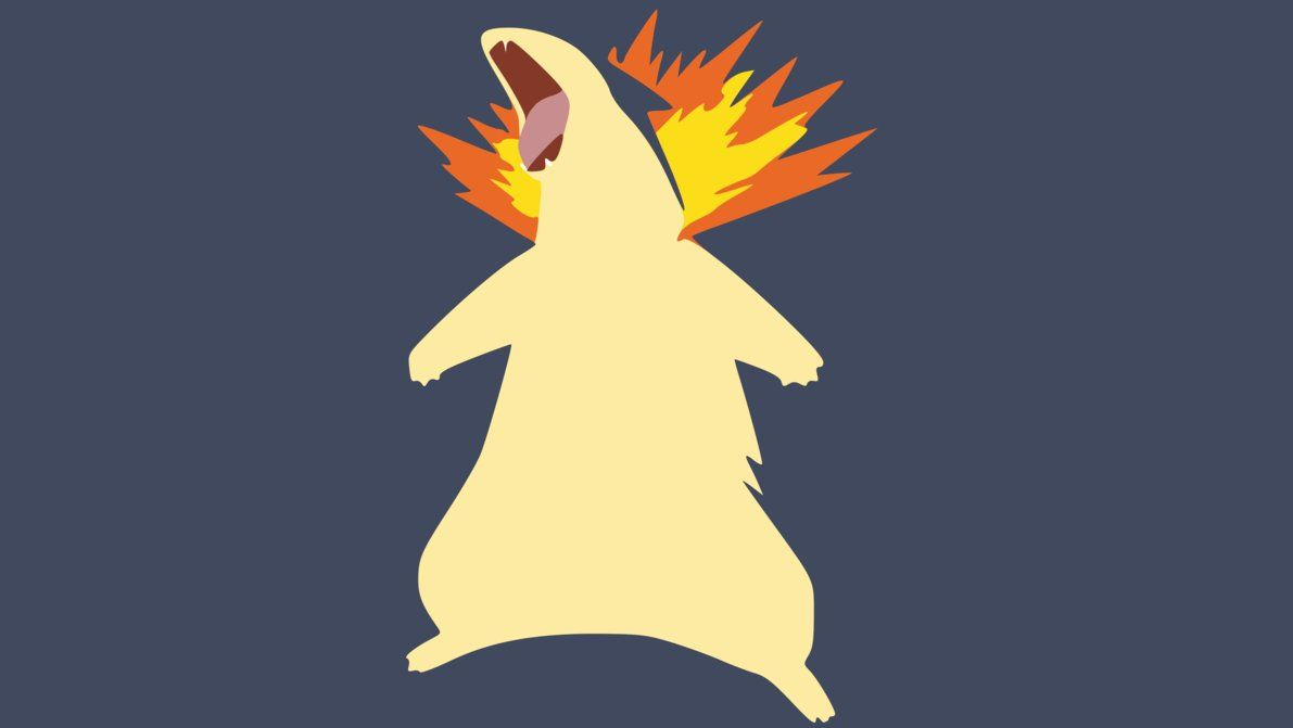 Typhlosion Wallpaper by DamionMauville on DeviantArt