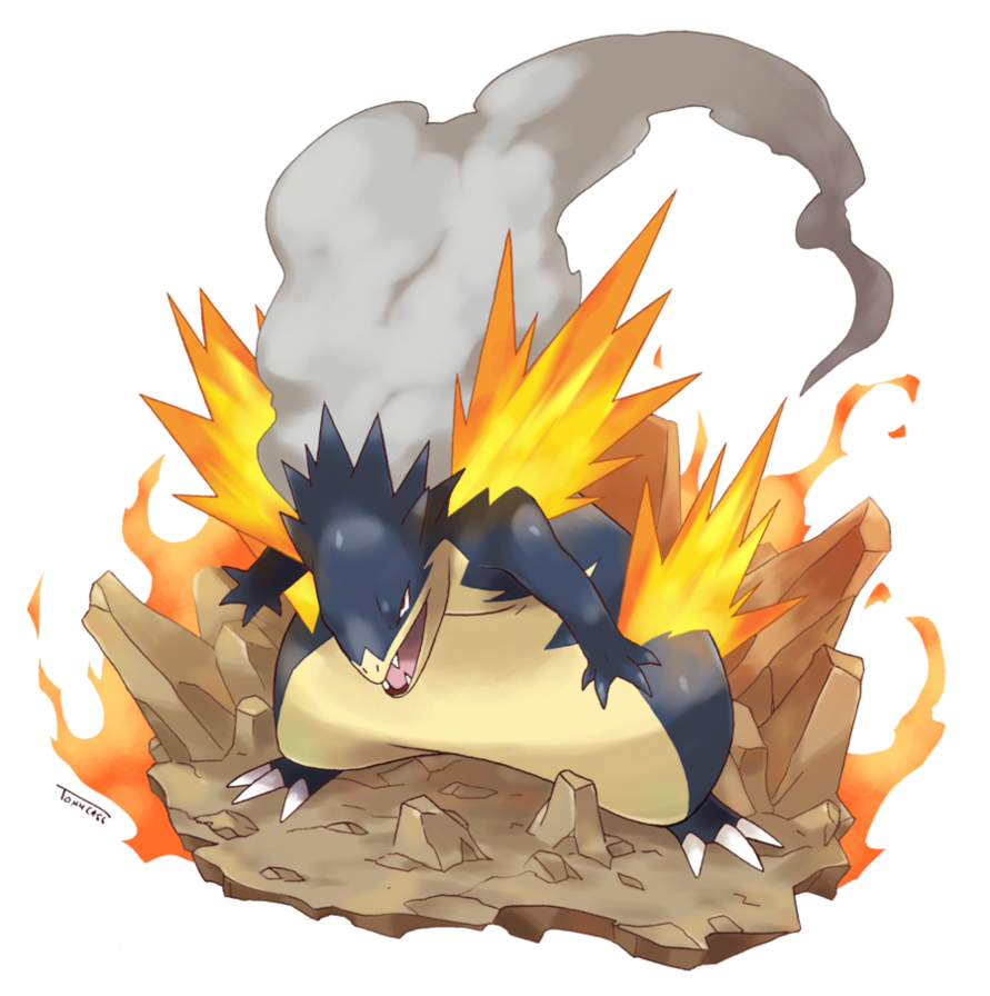Mega Typhlosion by Tomycase on DeviantArt