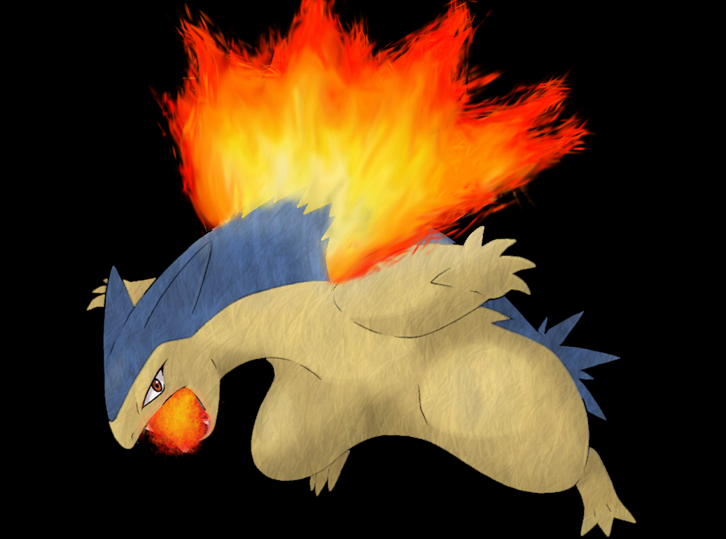 Typhlosion Wallpaper 02 – Detail by Ymeisnot on DeviantArt