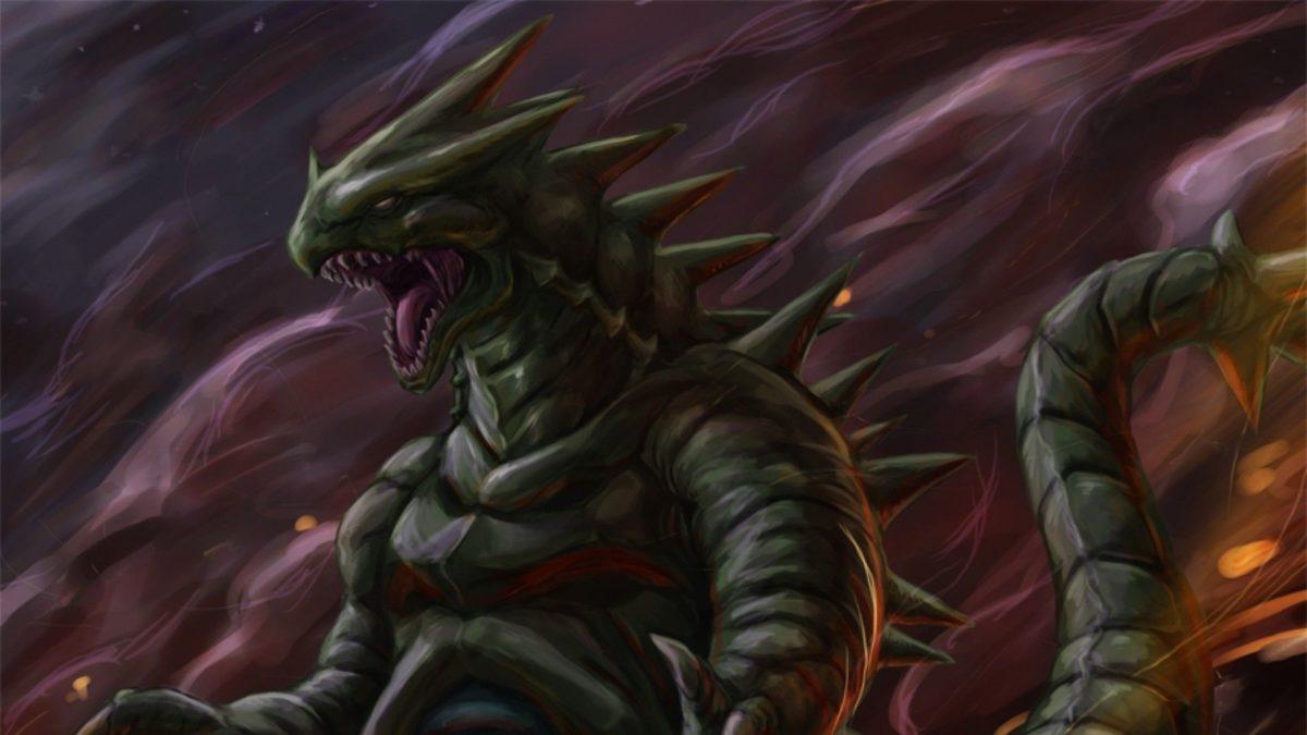 ScreenHeaven: Pokemon Tyranitar fan art desktop and mobile background