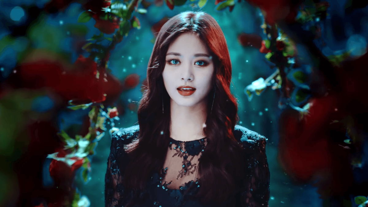 Tzuyu from MV brightened up for wallpaper 1080p : twice