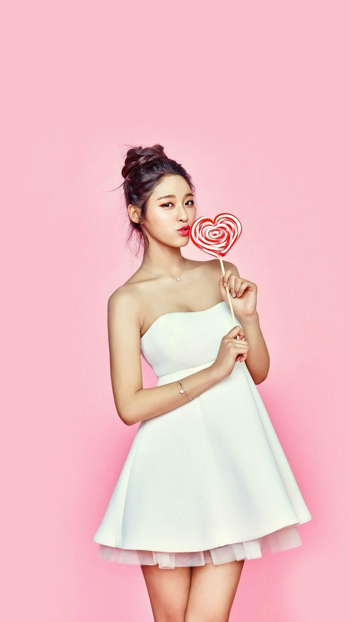 Genius Kpop Girl Cute – iPhone 6s Plus Wallpaper