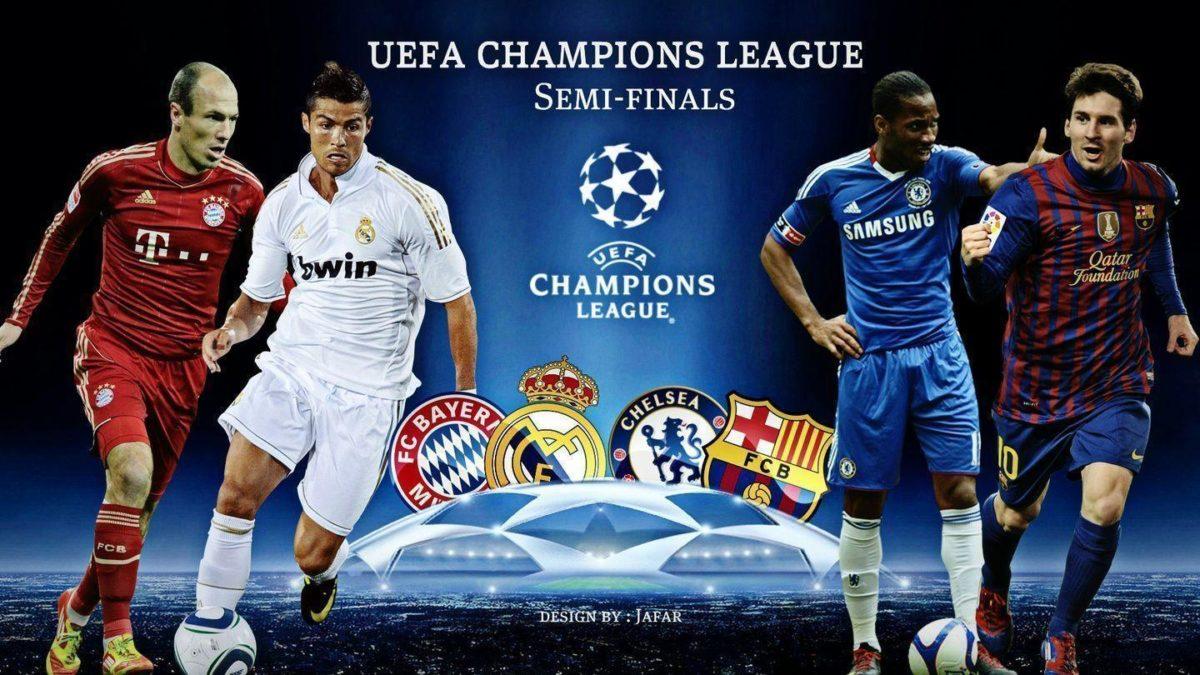 Semi-Finals Uefa Champions League | HD Wallpapers Football Club