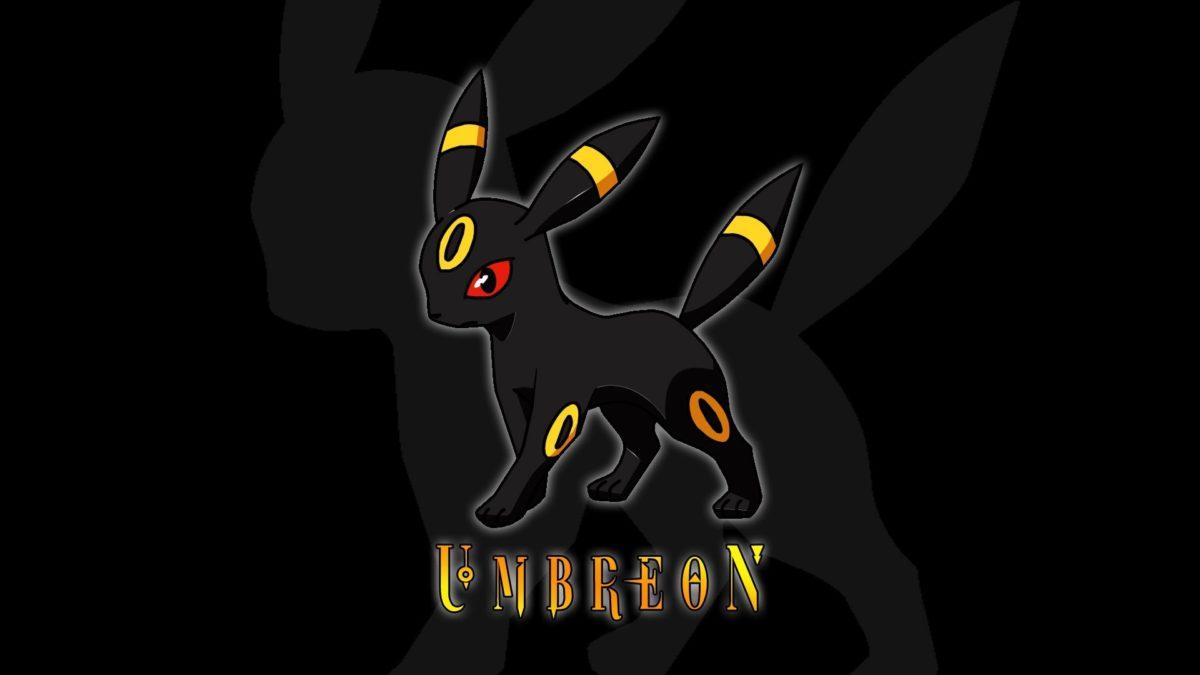 pokemon umbreon eeveelutions black background 1920×1080 wallpaper …