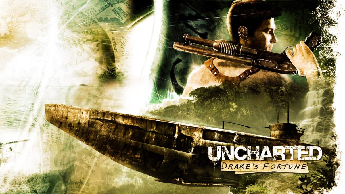 Uncharted – Drake Posing Wallpaper