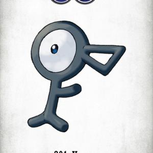 download 201 Character Unown | Wallpaper