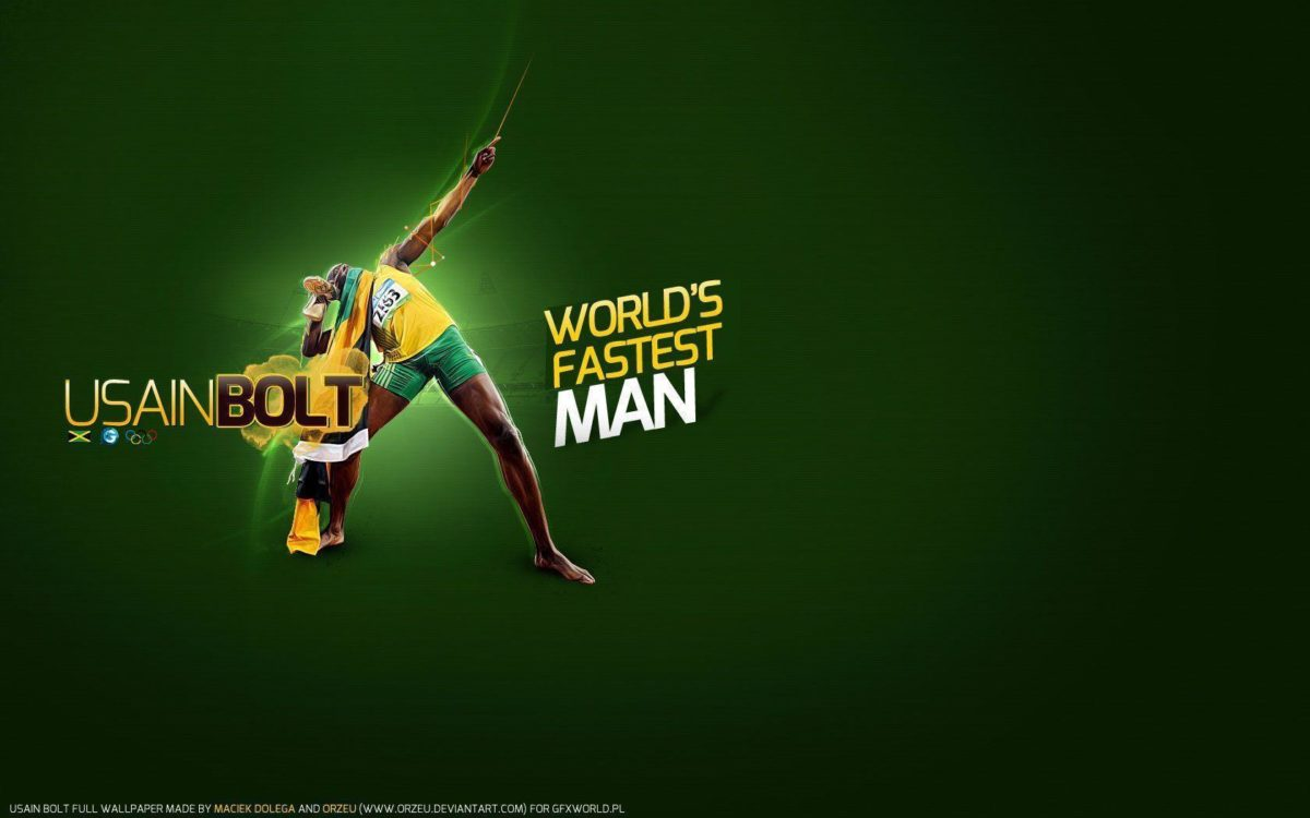 Free Wallpapers – Usain Bolt 1680×1050 wallpaper