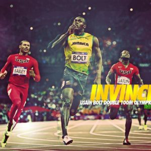 download Free Wallpapers – Usain Bolt 2012 1680×1050 wallpaper