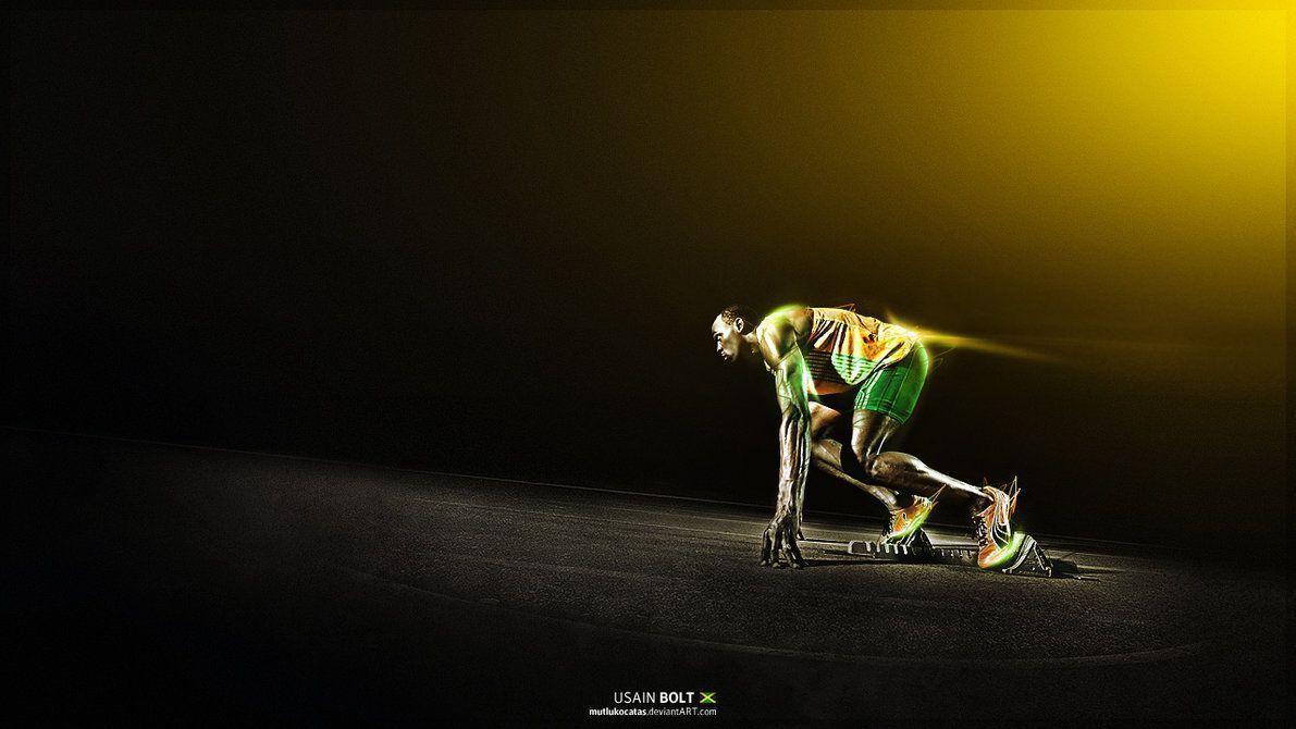 Usain Bolt – Jamaican Sprinter by mutlukocatas on DeviantArt