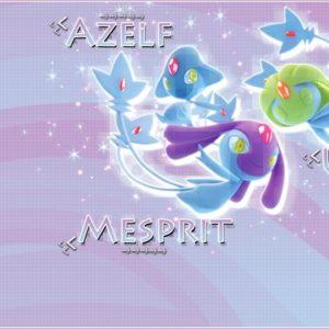 download Uxie Mesprit Azelf Wallpaper by demoncloud on DeviantArt