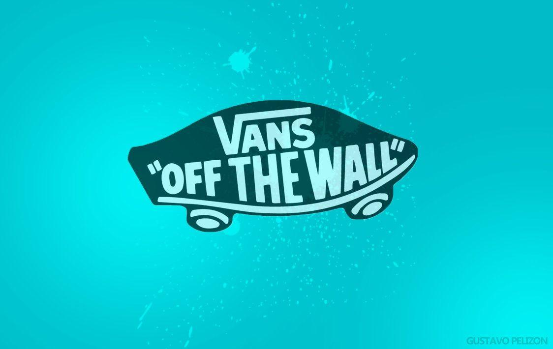 Blue Vans Off The Wall Logo Wallpaper HD Picture Desktop PC – Wallumi
