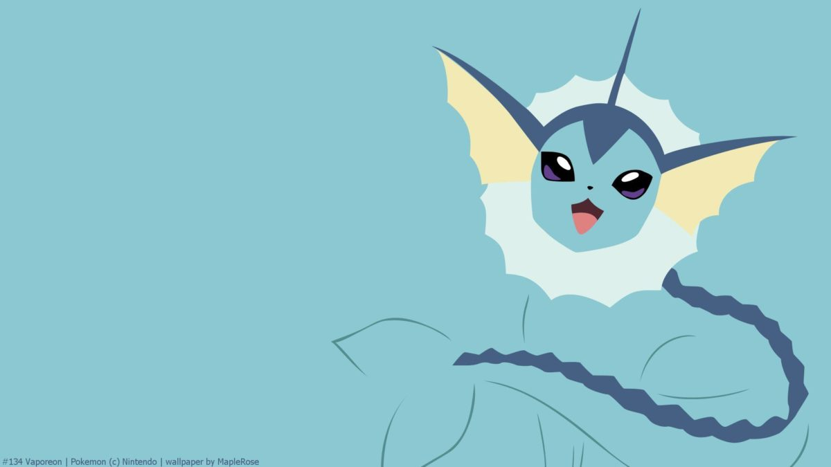 Vaporeon Full HD Wallpaper and Background Image | 1920×1080 | ID …